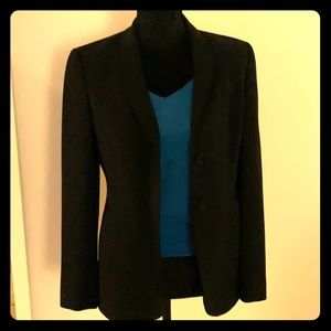 Ann Taylor Black 2-Button blazer sz 2
